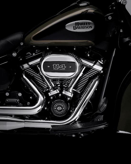 MOTOR MILWAUKEE-EIGHT™ BIG TWINUn motor potente que no se sobrecalienta y ofrece una respuesta de aceleración definida y un sonido gratificante para el alma.